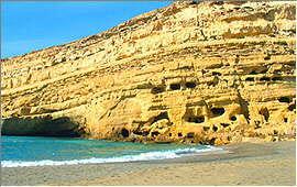 Matala: Die Hippie-Höhlen